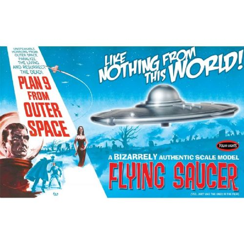 Plan 9 from Outer Space Flying Saucer 1:48 Scale Model Kit